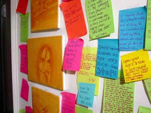 lisa project wall